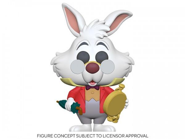 Alice in Wonderland 70th Anniversary Funko Pop! Vinylfigur White Rabbit (with Watch)