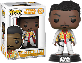 Star Wars Funko Pop! Vinylfigur Lando Calrissian 251 Exclusive