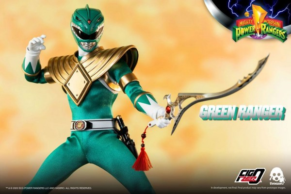 Mighty Morphin Power Rangers FigZero Actionfigur 1/6 Green Ranger