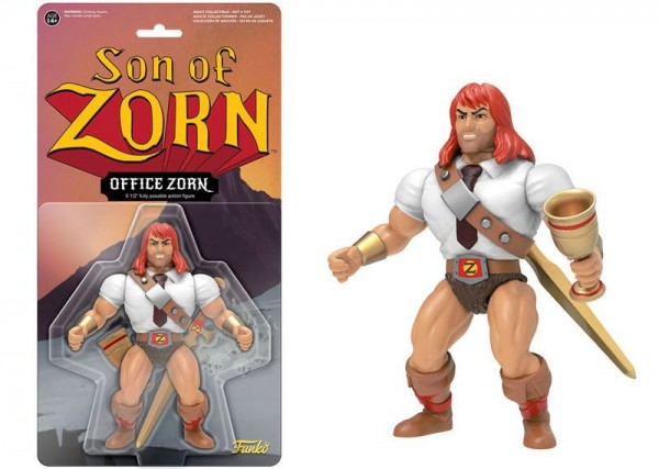 Son of Zorn Vintage Actionfigur Office Zorn