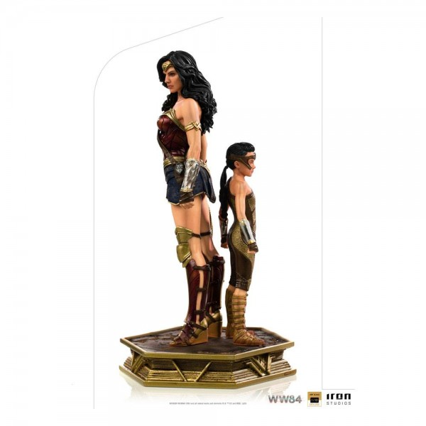 Wonder Woman 1984 BDS Art Scale Statue 1/10 Wonder Woman & Young Diana (Deluxe)