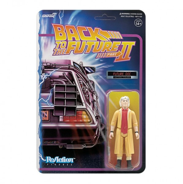 Back to the Future II ReAction Actionfigur Doc Brown (Future)