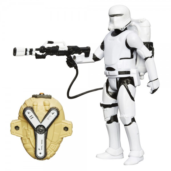 Star Wars Force Awaken Snow/Desert 10 cm Actionfigur First Order Flametrooper (VII)