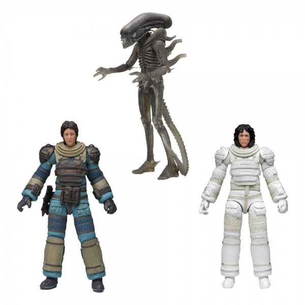 Alien 40th Anniversary Actionfiguren-Set Serie 4 (3)