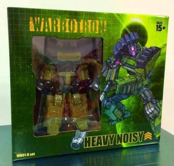 Warbotron WB01-B Heavy Noisy