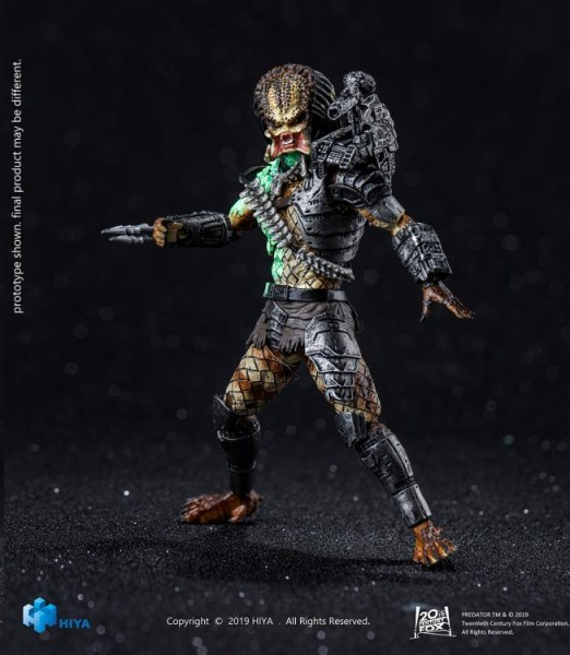 Predator Actionfigur 1/18 Battle Damage Jungle Predator (Previews Exclusive)