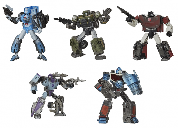 Transformers Generations War For Cybertron SIEGE Netflix Series Deluxe Wave 1 (5) (Exclusive)