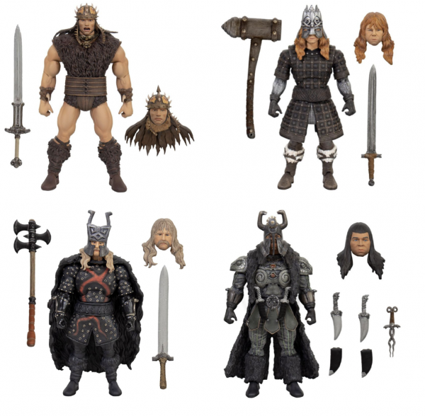 Conan der Barbar Ultimates Actionfiguren-Set (4)