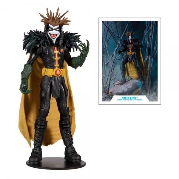 DC Multiverse Build A Actionfigur Robin King (Dark Nights: Death Metal)