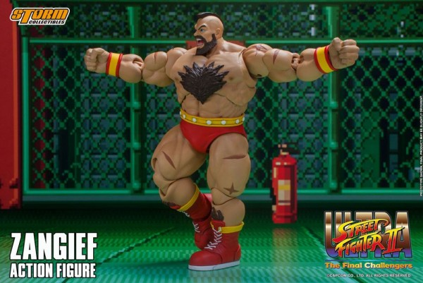 Ultra Street Fighter II: The Final Challengers Actionfigur 1/12 Zangief