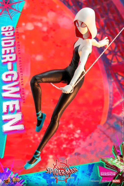 Spider-Man A New Universe Movie Masterpiece Actionfigur 1/6 Spider-Gwen & Spider-Ham