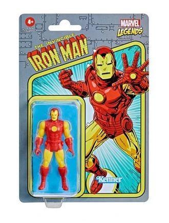 Marvel Legends Retro Actionfigur 10 cm Iron Man