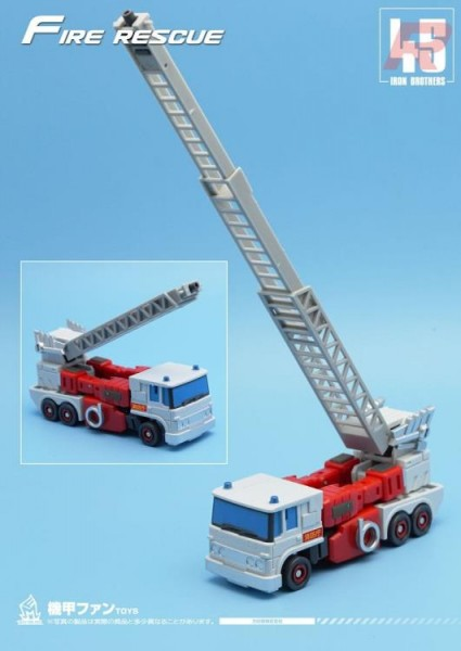 Mech Fans Toys MF-45R Fire Rescue