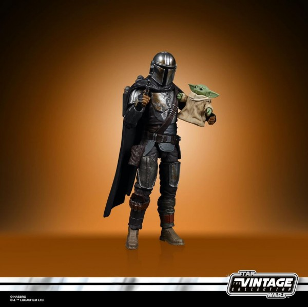 Star Wars Vintage Collection Actionfigur 10 cm Din Djarin (Mandalorian) Exclusive