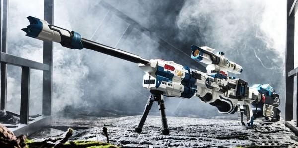 NBK K-SR02 King of The Sniper Adjudicator (Blue Colour)