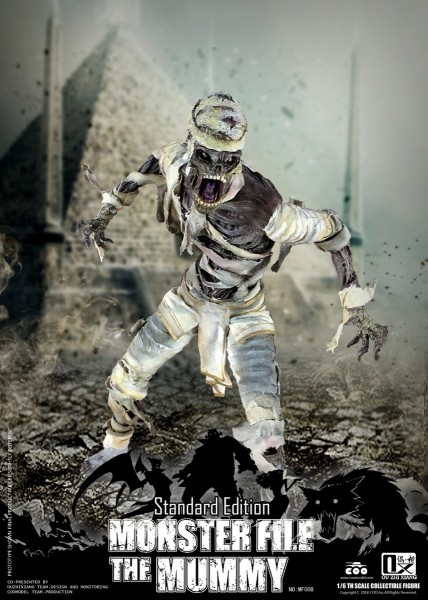 Coomodel X OUZHIXIANG 1/6 Actionfigur Mummy (Standard Edition)