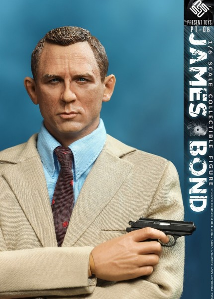Present Toys 1/6 Actionfigur The Agent
