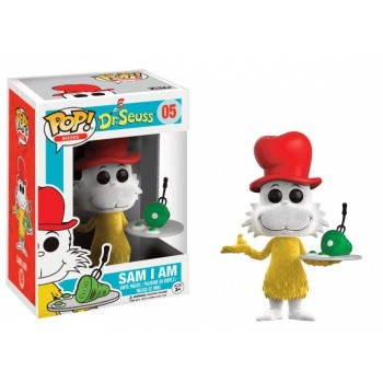 Dr. Seuss Funko Pop! Vinylfigur Sam I Am (Flocked) 05 Exclusive