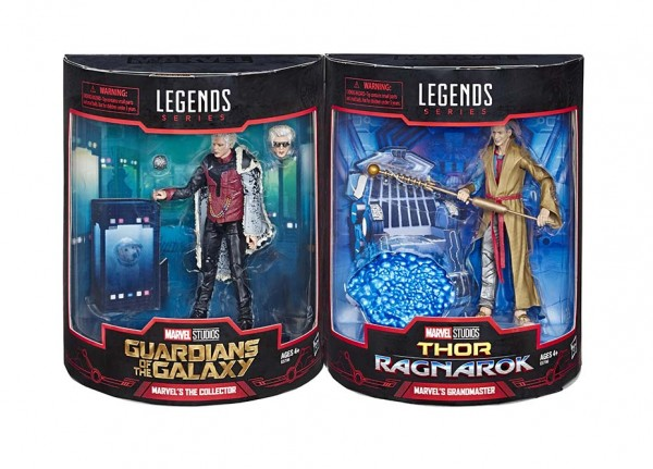 Marvel Legends Actionfiguren 2-Pack The Collector & Grandmaster (SDCC 2019)