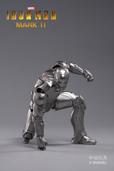 ZD Toys Actionfigur 1/10 Iron Man Mark II