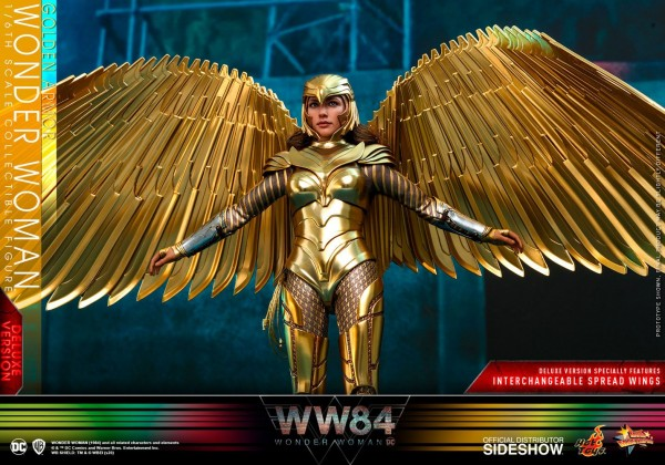 Wonder Woman 1984 Movie Masterpiece Actionfigur 1/6 Golden Armor Wonder Woman (Deluxe)