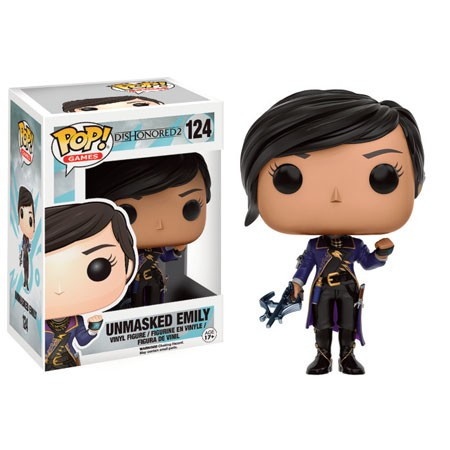 Dishonored 2 Funko Pop! Vinylfigur Unmasked Emily 124 Exclusive