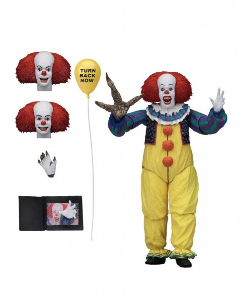 Stephen Kings It Ultimate Actionfigur Pennywise (1990) Version 2