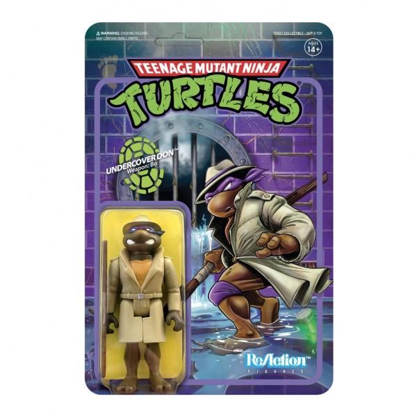 Teenage Mutant Ninja Turtles ReAction Actionfigur Undercover Donatello
