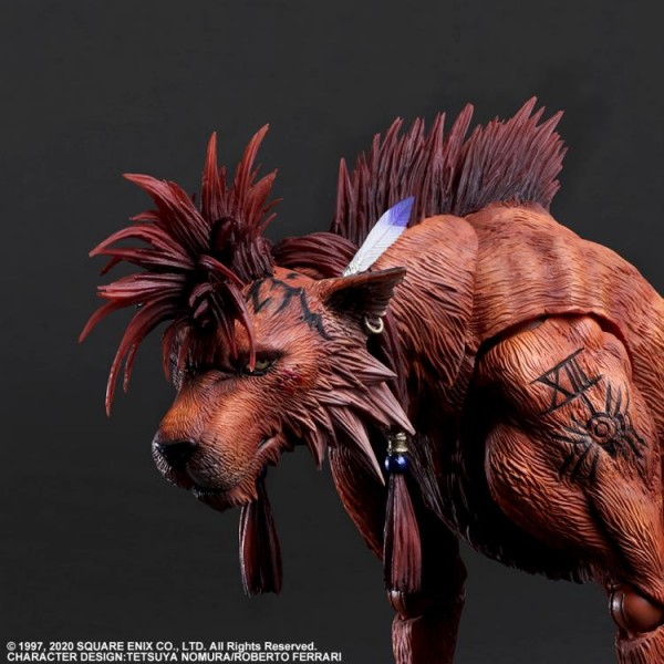 Final Fantasy VII Remake Play Arts Kai Actionfigur Red XIII