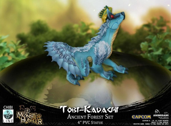 Monster Hunter Statue Tobi-Kadachi