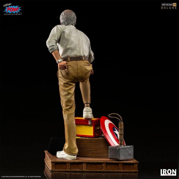 Marvel Comics Art Scale Statue 1/10 Stan Lee (Deluxe)
