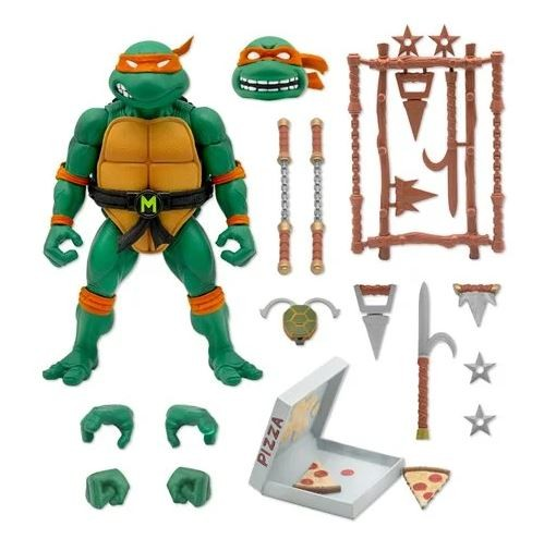 Teenage Mutant Ninja Turtles Ultimates Actionfiguren-Set Wave 3 (4)