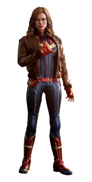 Captain Marvel Movie Masterpiece Actionfigur 1/6 Captain Marvel (Deluxe Version)