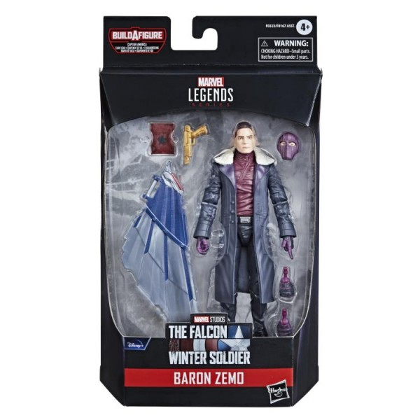 Avengers 2021 Marvel Legends Actionfiguren-Set Wave 1 Capt. America Flight Gear (7)