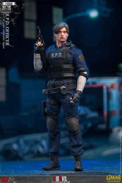Lim Toys Bio Evil Limini 1/12 Actionfigur R.P.D. Officer (Version S)