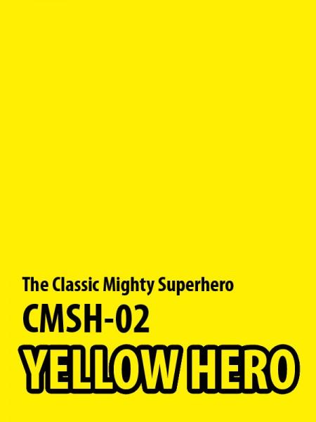 ACE TOYZ Classic Mighty Superhero 1/6 Actionfigur Yellow Hero