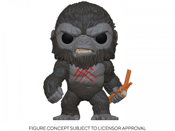 Godzilla vs. Kong Funko Pop! Vinylfigur Battle Scarred Kong