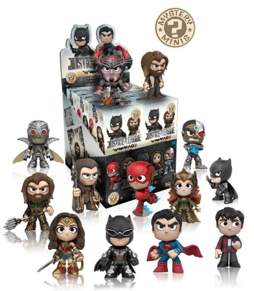 Justice League Movie Mystery Minis Blindbox Minifigur