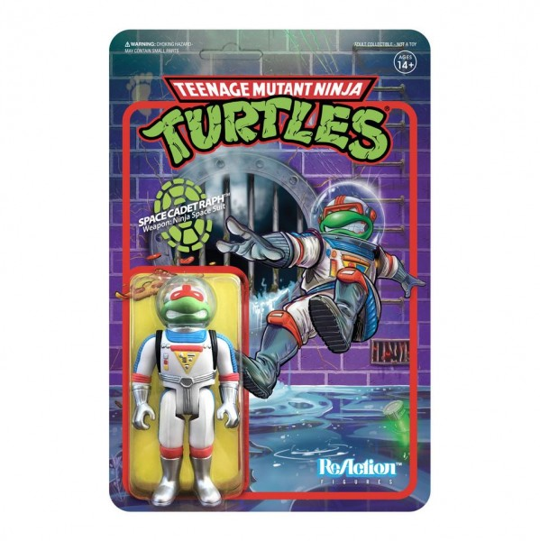 Teenage Mutant Ninja Turtles ReAction Actionfigur Space Cadet Raphael