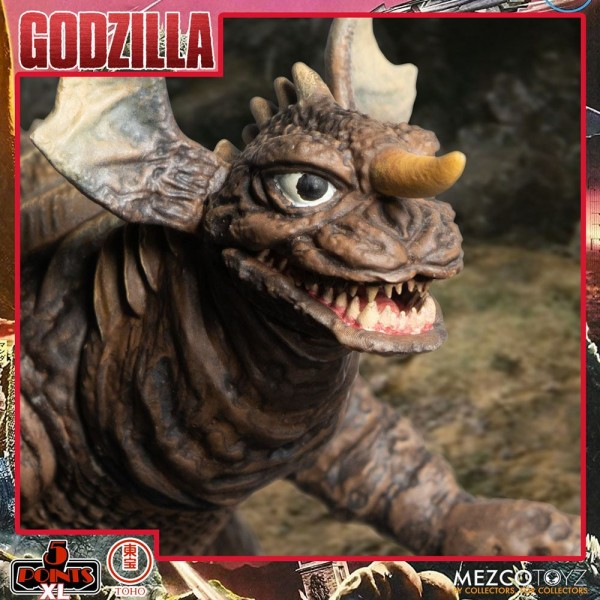 Godzilla: Frankenstein und die Monster aus dem All '5 Points' Actionfiguren Deluxe Box-Set Round 2