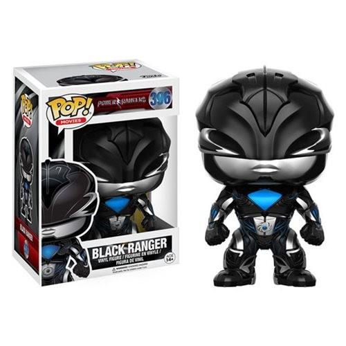 Power Rangers Movie Funko Pop! Vinylfigur Black Ranger 396
