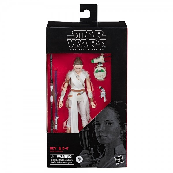 Star Wars Black Series Actionfigur 15 cm Rey & D-O