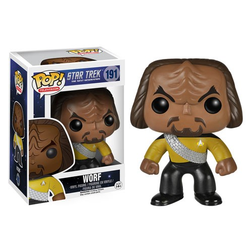 Star Trek: Next Generation Funko Pop! Vinylfigur Worf 191