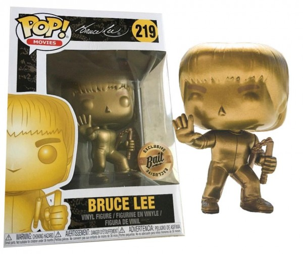 Bruce Lee Game of Death Funko Pop! Vinylfigur (Gold) 219 Exclusive