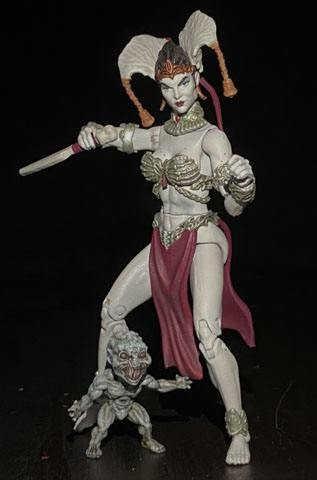 Court of the Dead Actionfigur Gethsemoni Queen of the Dead