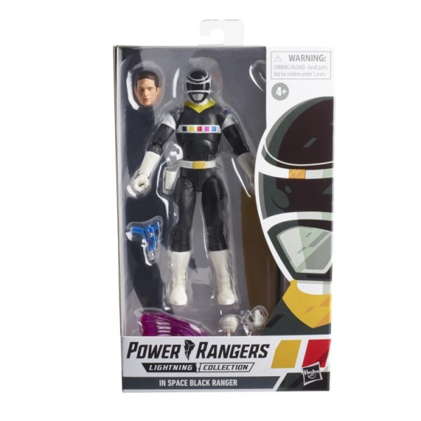 Power Rangers Lightning Collection Actionfigur 15 cm In Space Black Ranger