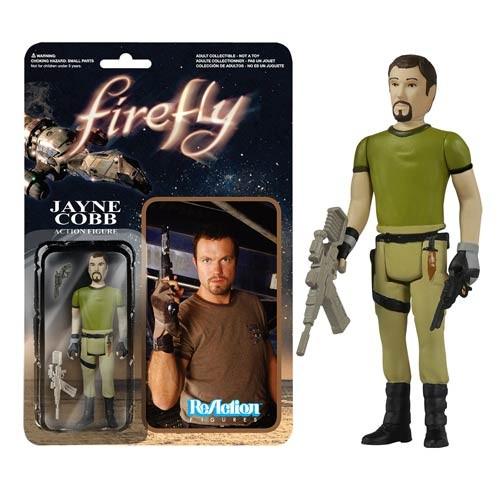 Firefly ReAction Actionfigur Jayne Cobb