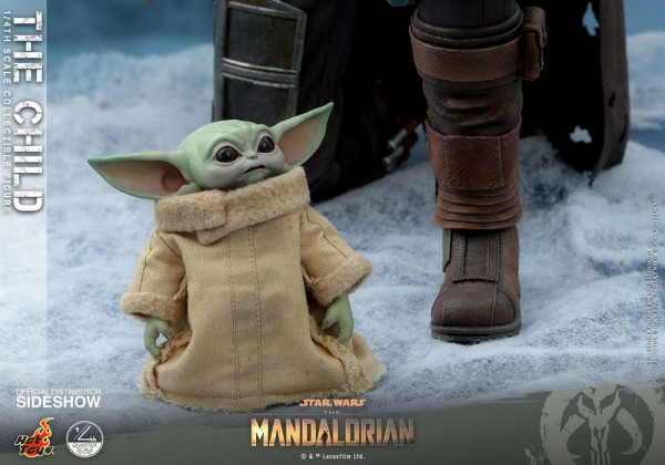Star Wars The Mandalorian Actionfigur 1/4 The Child (9 cm)