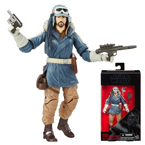 Star Wars Black Series Actionfigur 15 cm Captain Cassian Andor (Eadu)