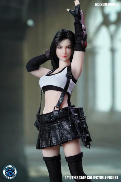 SUPER DUCK 1/12 Fantasy Fighting Goddess (Kopf & Kostüm)